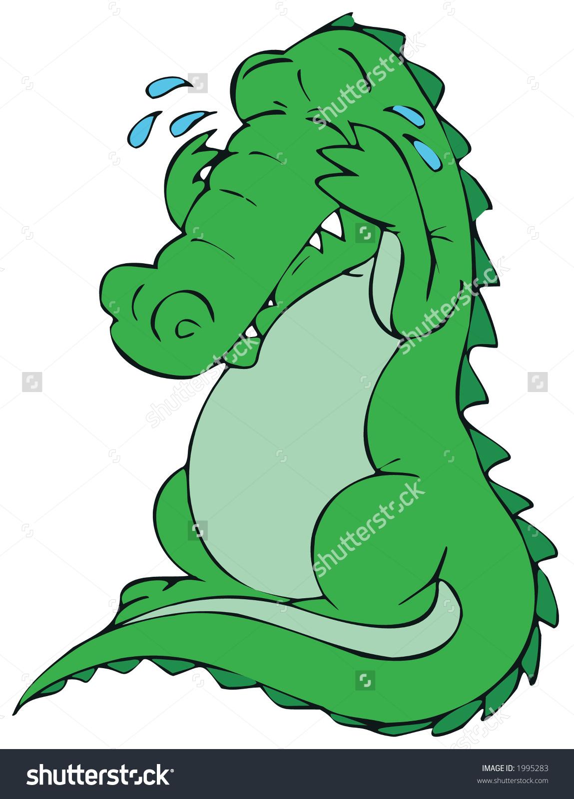 Alligator clipart sad Sadness) (insincere all History: believe