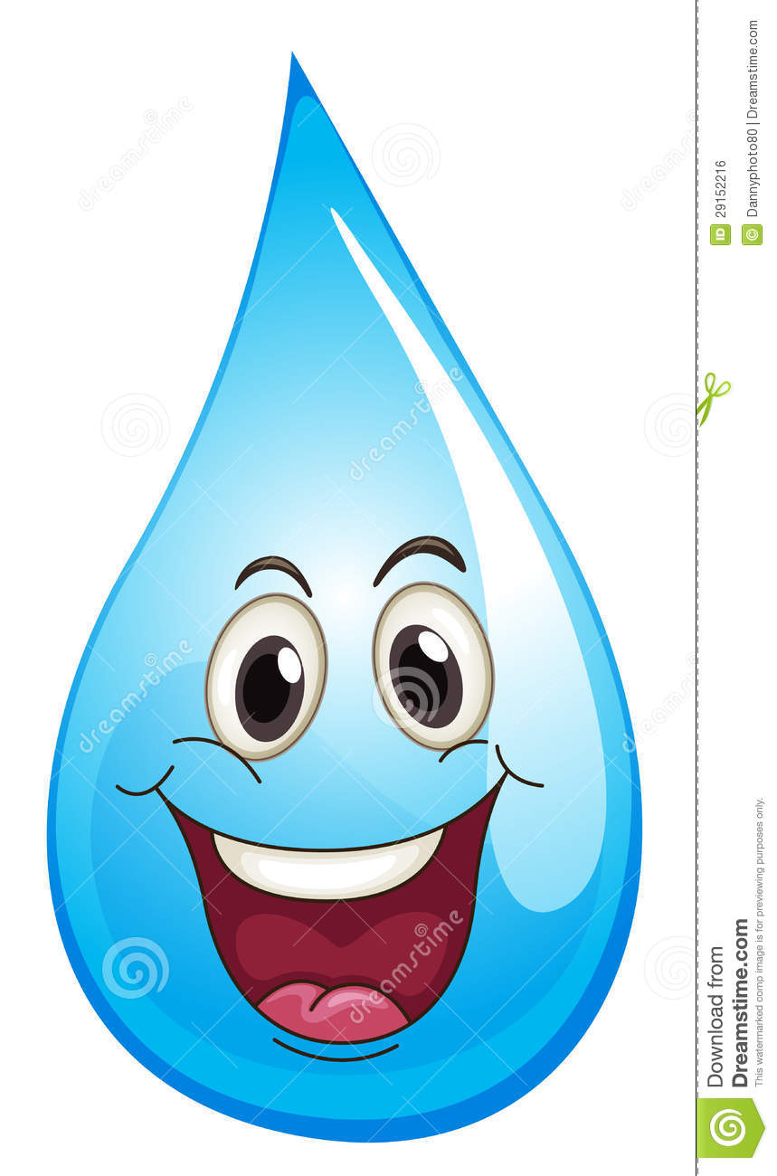 Blue Water clipart water fun (1393) Water Clipart Clipartwork Funny
