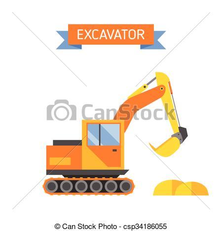 Technics clipart Under  construction illustration csp34186055