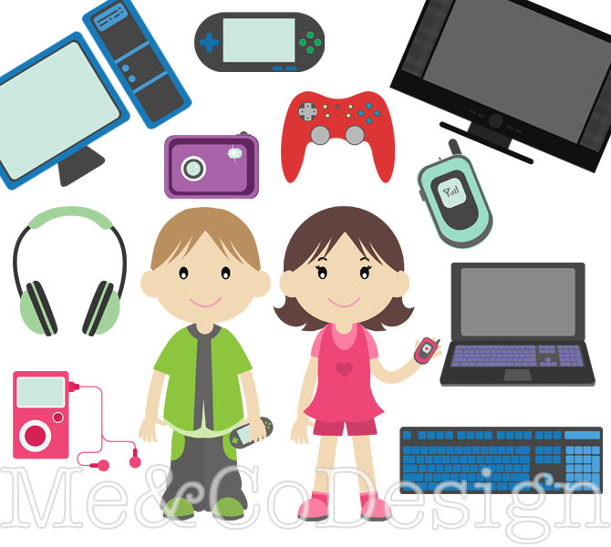 Technology clipart Techno Commercial Kids and Technology