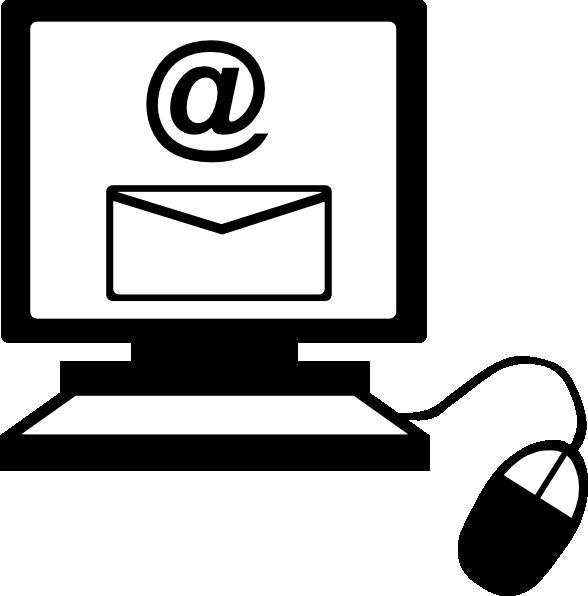 Black clipart internet #2