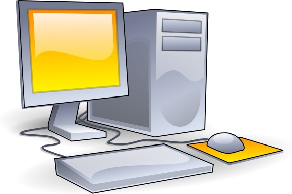 Technology clipart computer hardware Free art Computer collection clip