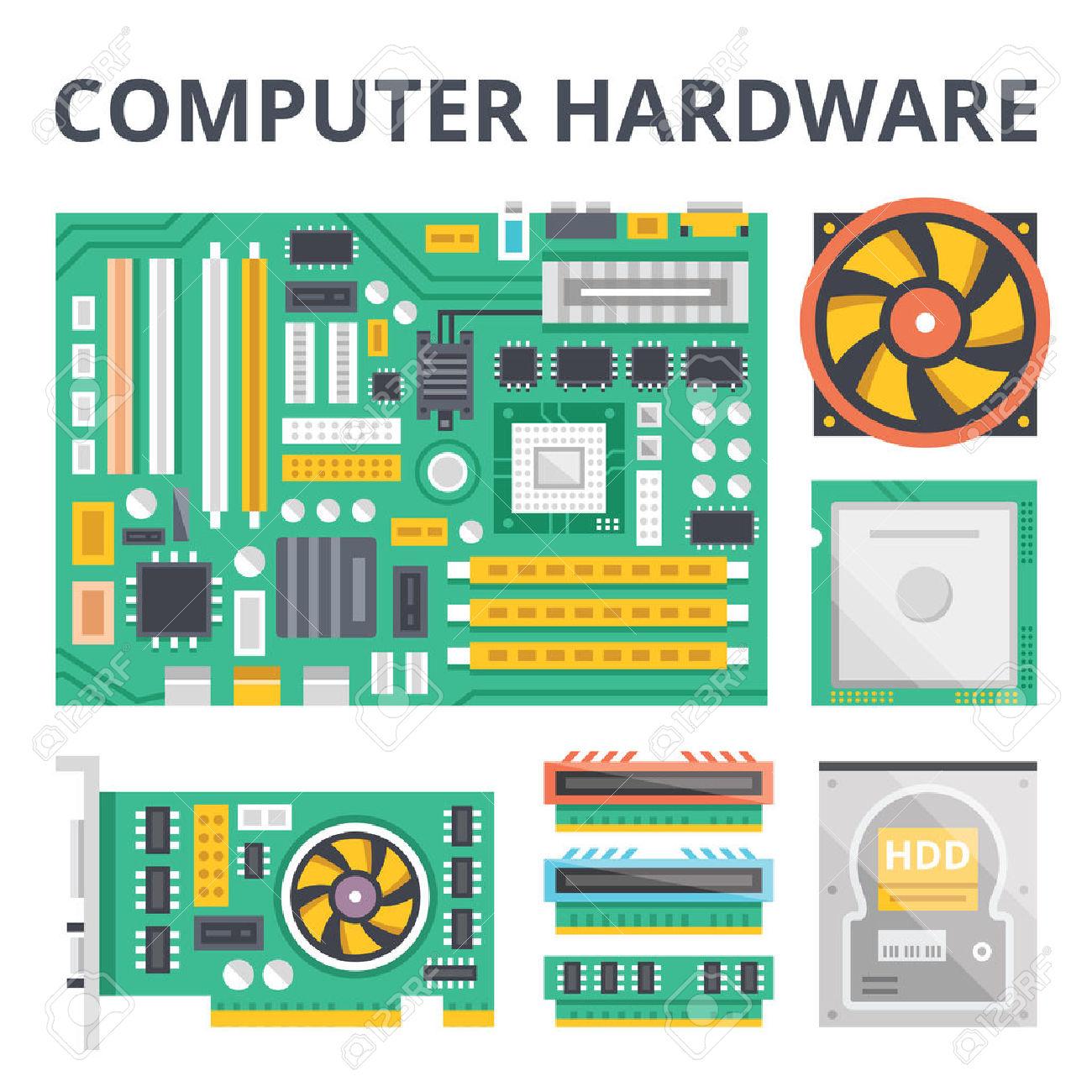Technology clipart computer hardware Computer online Hardware #3058 Clipart
