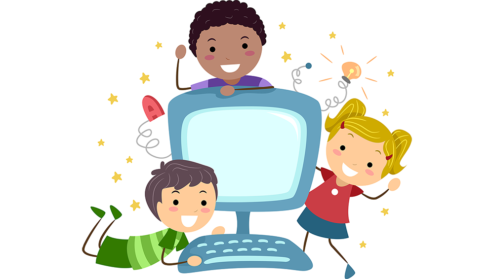 Technology clipart computer kid 10 To Use To Education