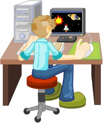 Technology clipart computer student Free Free Clipart Clip Art