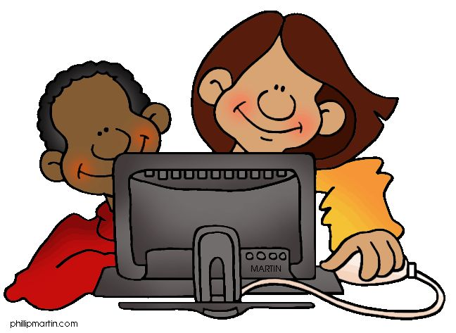 Technology clipart computer student On 101 Computer Clipart Art