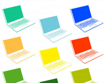 Technology clipart computer student Picture Student notebook Computer Clipart