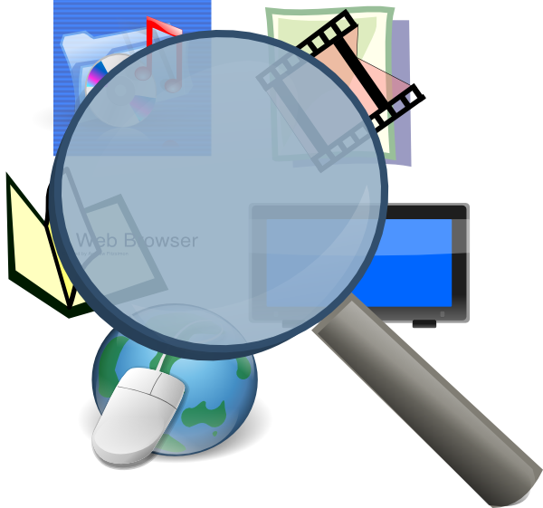 Technology clipart finding This Media Clker image Clip