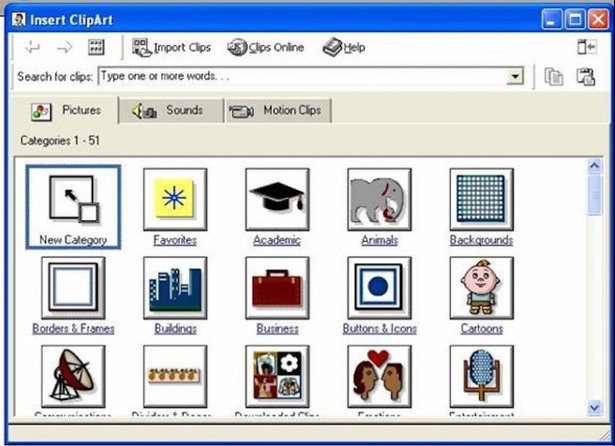 Technology clipart finding The art your right Microsoft