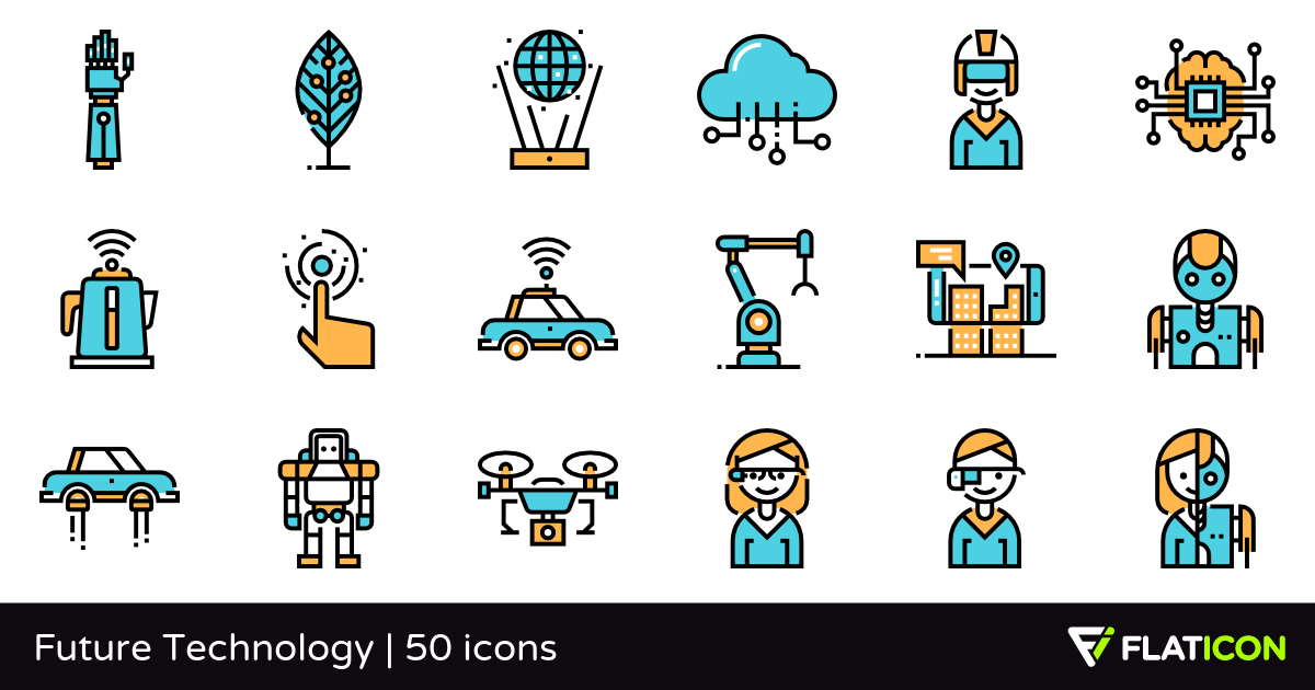 Technology clipart future technology PNG  50 PSD icons