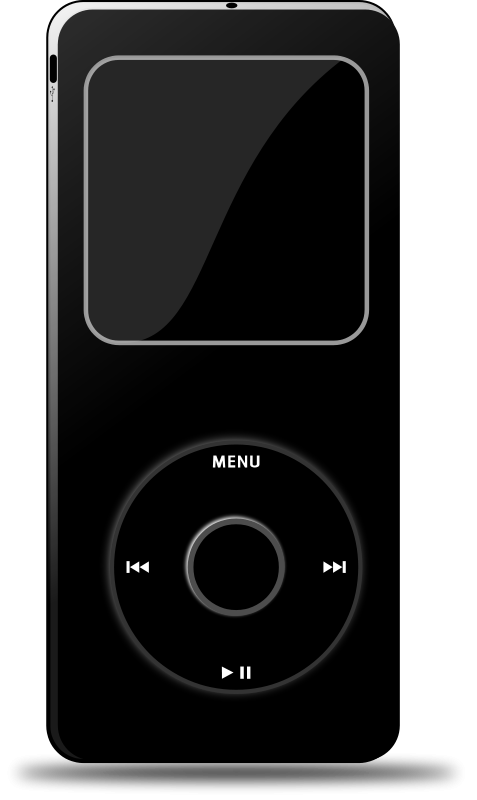Technology clipart ipod (Black) Clip Download Art Ipod