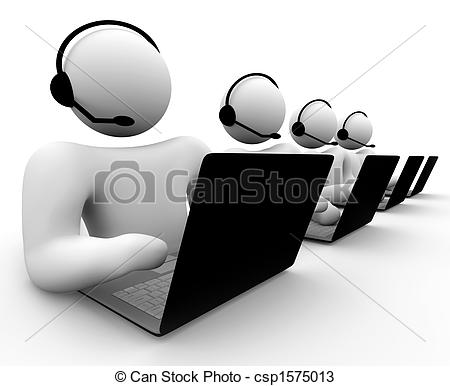 Technology clipart it support Support csp1575013 of Team Team