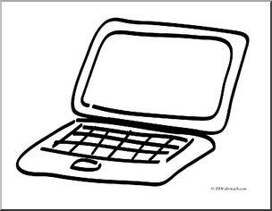 Technology clipart laptop Laptop com Art: page) large