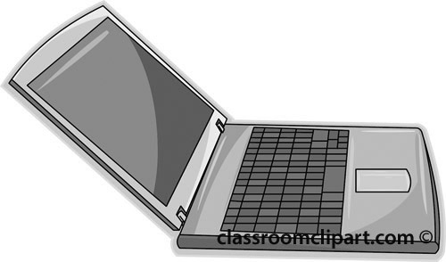 Technology clipart laptop  jpg laptop_computer_712Ra_gray Technology laptop_computer_712Ra_gray