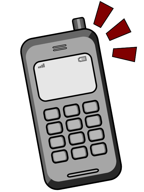 Telephone clipart cell phone Free Images Phone Clipart Cell
