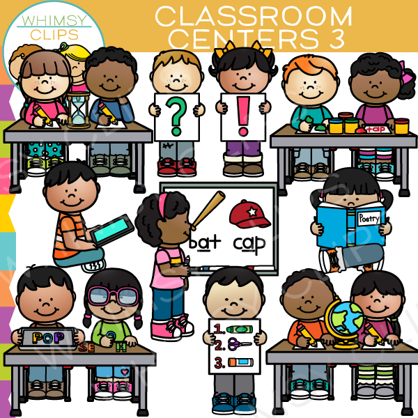 Technology clipart the classroom clipart Class clip Set Whimsy Classroom