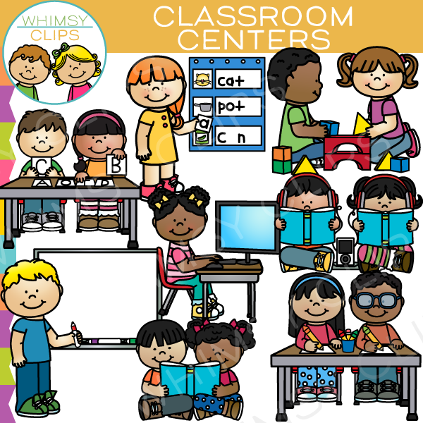 Technology clipart the classroom clipart Clipart collection Set Classroom Centers