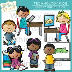 Technology clipart the classroom clipart Balloon Clip  Digital by