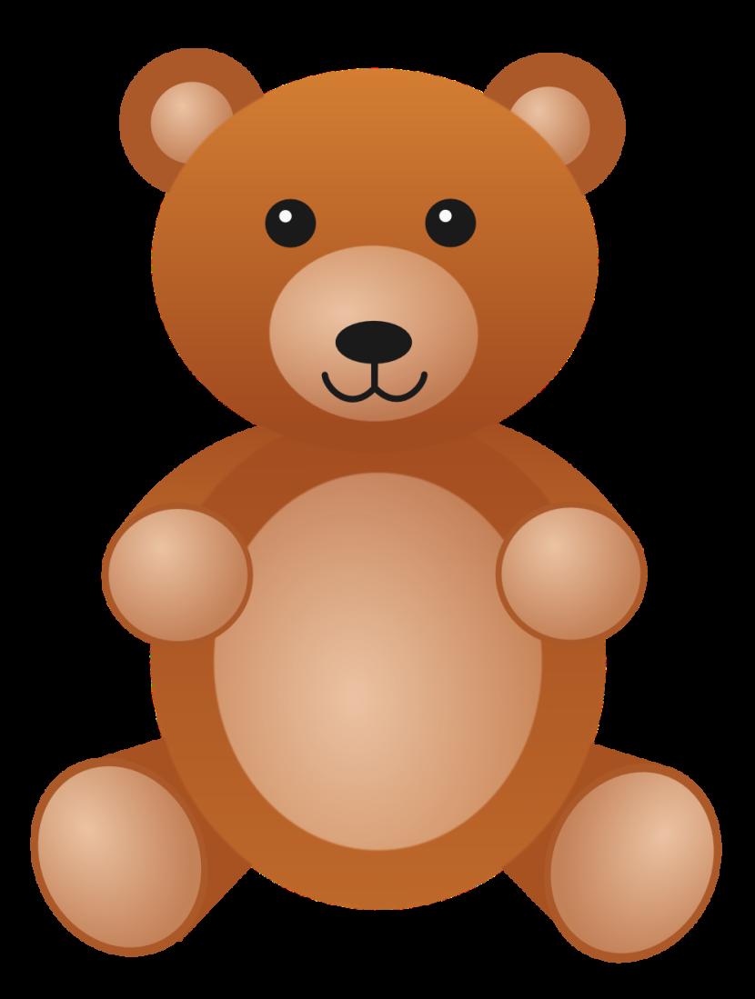 Brown Bear clipart soft toy Clipart photo photo teddy art