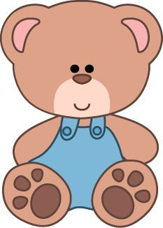 Teddy clipart little bear #1
