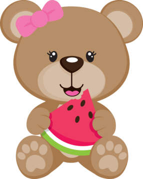 Adorable clipart toy bear Bear Cute ART vector Girl