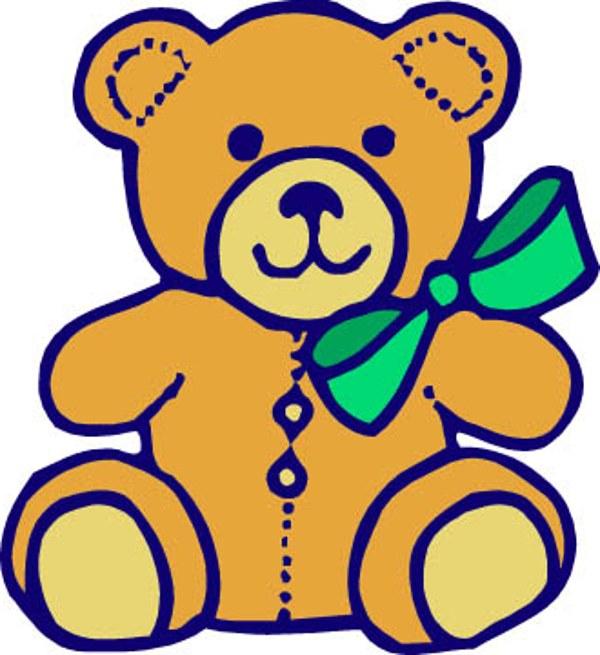 Bear clipart real baby Teddy bear art Teddy clipartwiz