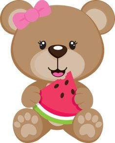 Teddy clipart adorable Clip SUMMER Illustration Cute Baby