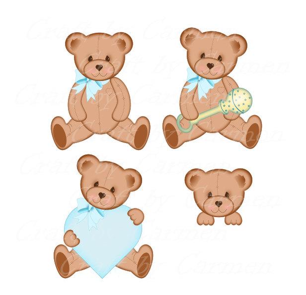 Bear clipart real baby Bear art art Teddy bear