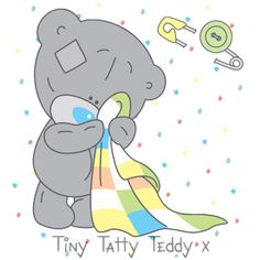 Teddy clipart baby blue ‿✿⁀Tatty Teddy‿✿⁀ Images teddy graphics