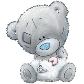 Teddy clipart baby blue 〽️Tatty Teddy  Teddy Art