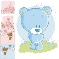 Teddy clipart baby blue Find designs this tattoo clipart