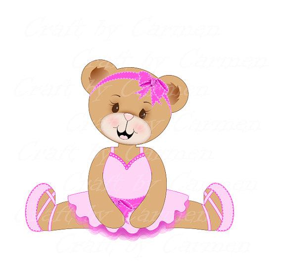 Teddy clipart ballerina Ballerina  Cute bear sweet