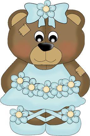 Teddy clipart ballerina TEDDY 845 images Art⭐ Pinterest