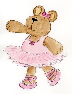 Teddy clipart ballerina Dancing Hair cache media pinimg