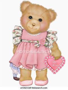Teddy clipart ballerina Ursinho of Cute bear Pinterest