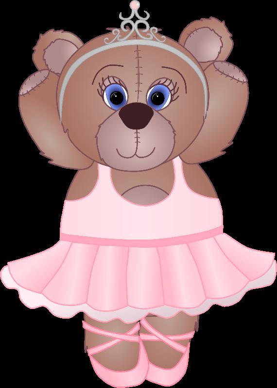 Teddy clipart ballerina Teddy Ballerina Gifts Ballerina cm