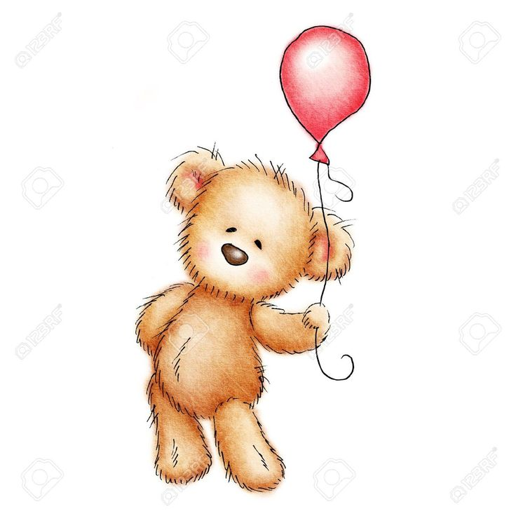 Teddy clipart beat With bear images balloon Free