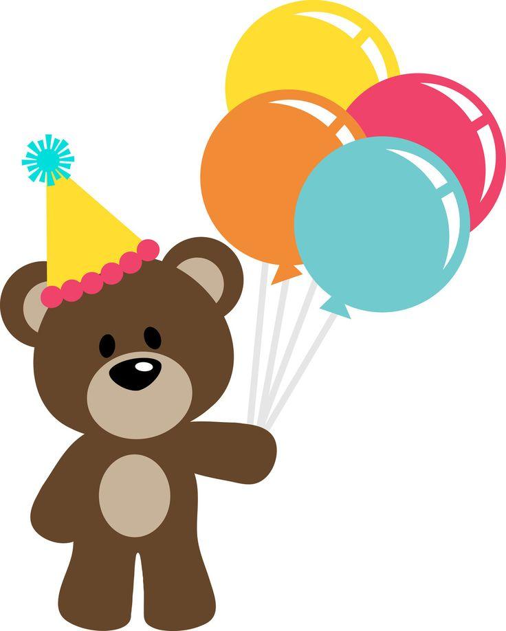 Teddy clipart birthday T TEDDY BEAR CLIP 2096