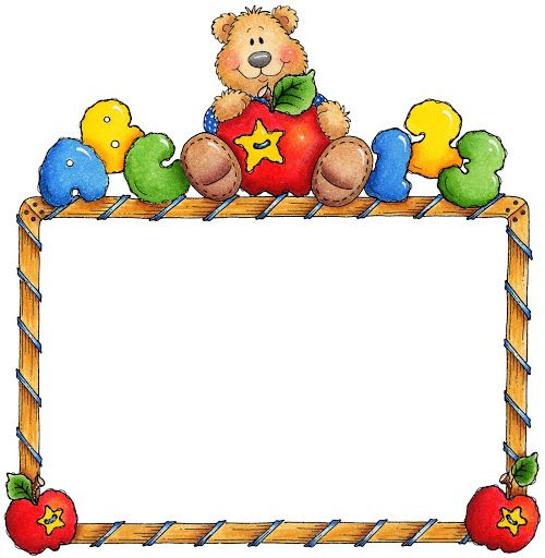 Teddy clipart border Collection 15 para 500x512 Figuras