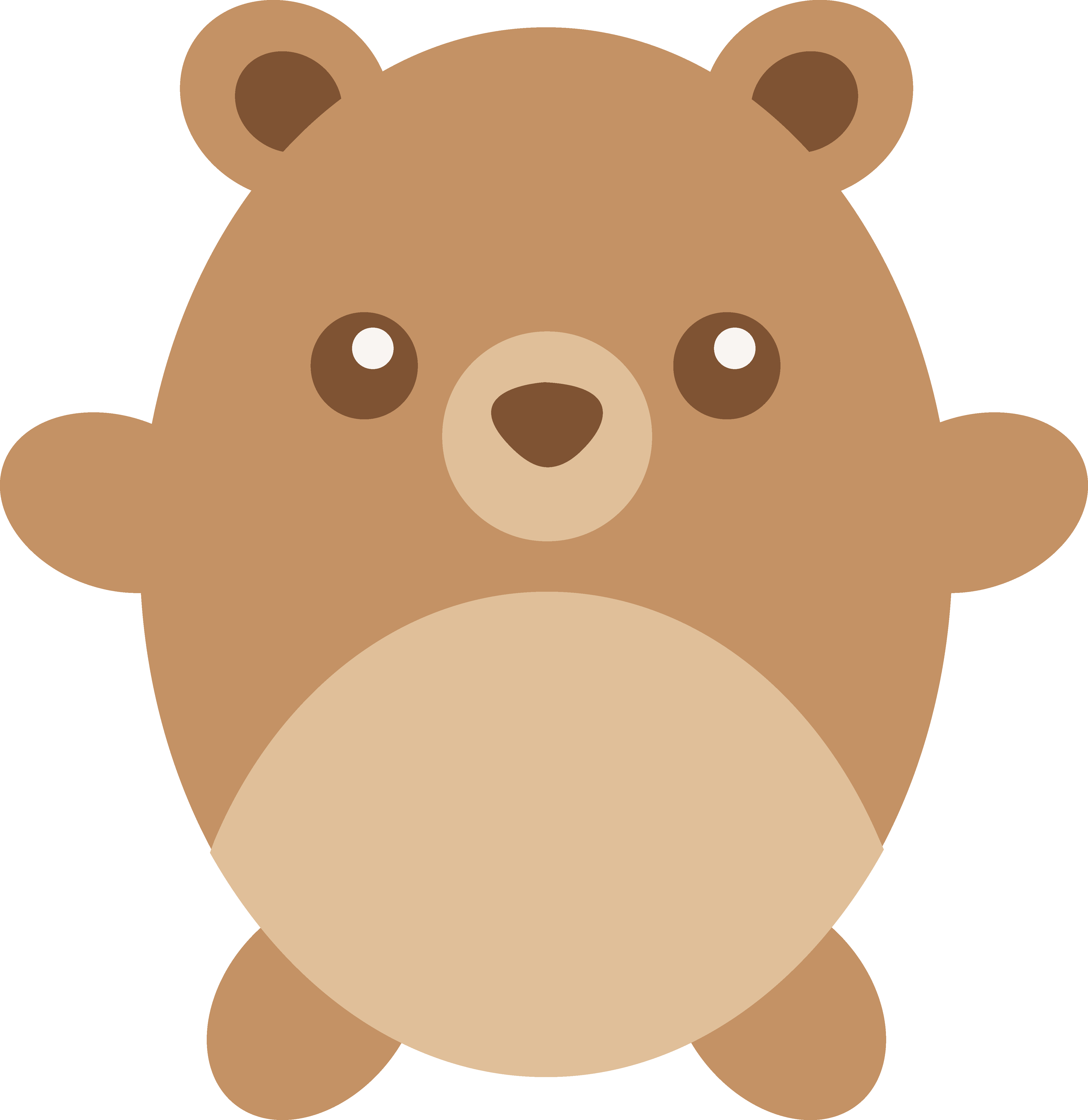 Brown Bear clipart teddy bear Art Bear Clip Free Brown