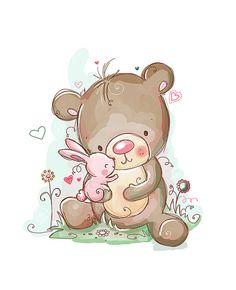 Teddy clipart bunny #14