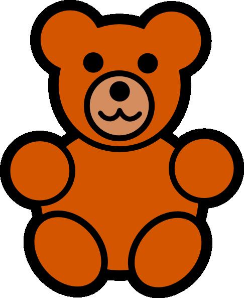 Gummy Bear clipart teddy bear outline Teddy Clip Download Free Free