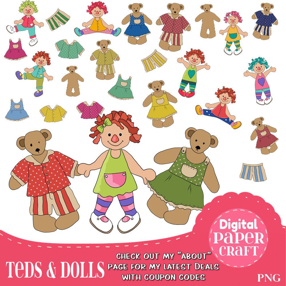 Teddy clipart children's #7