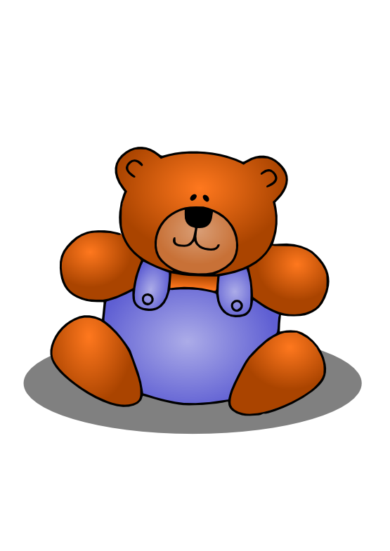 Teddy clipart circle #7