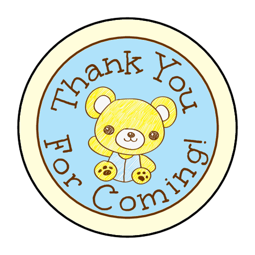 Teddy clipart circle #8