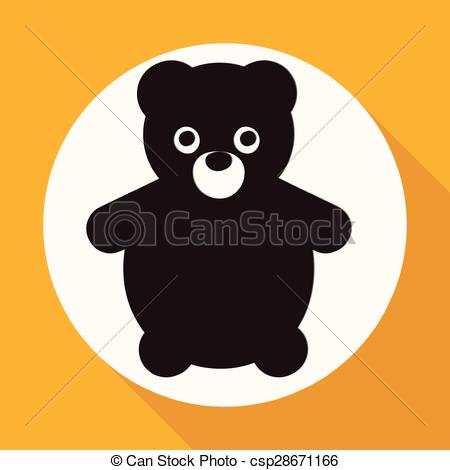 Teddy clipart circle #11