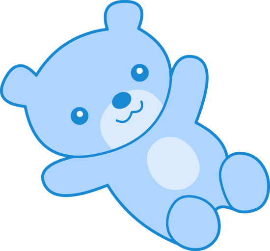 Teddy clipart coloring page #12