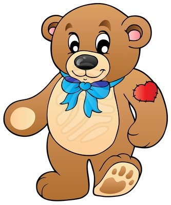 Teddy clipart cute bear Clipart Cute and free bear
