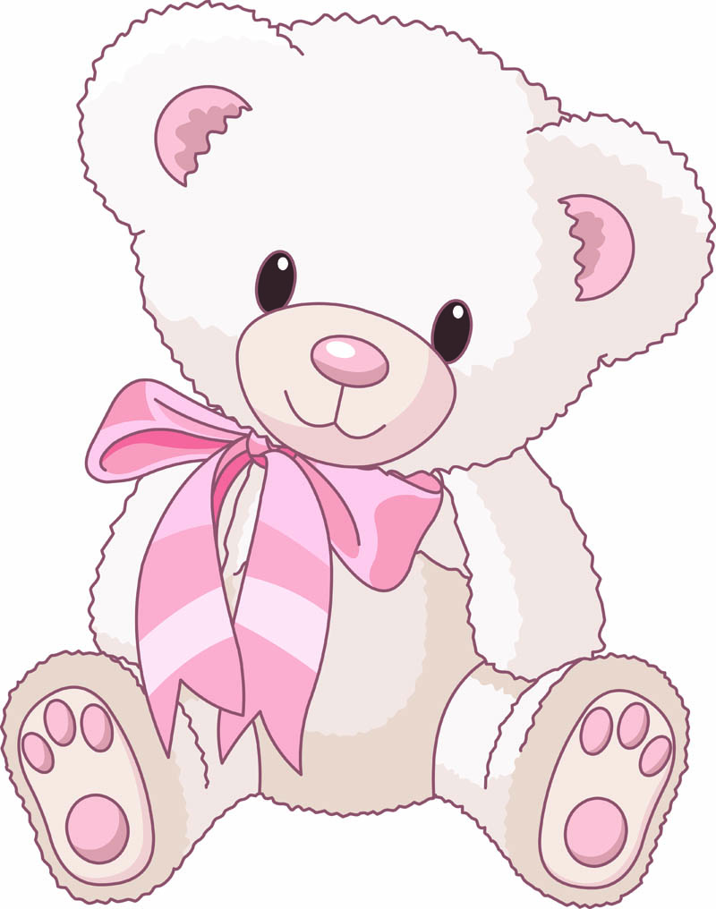Teddy clipart cute bear Cute free Pinterest cartoon vector