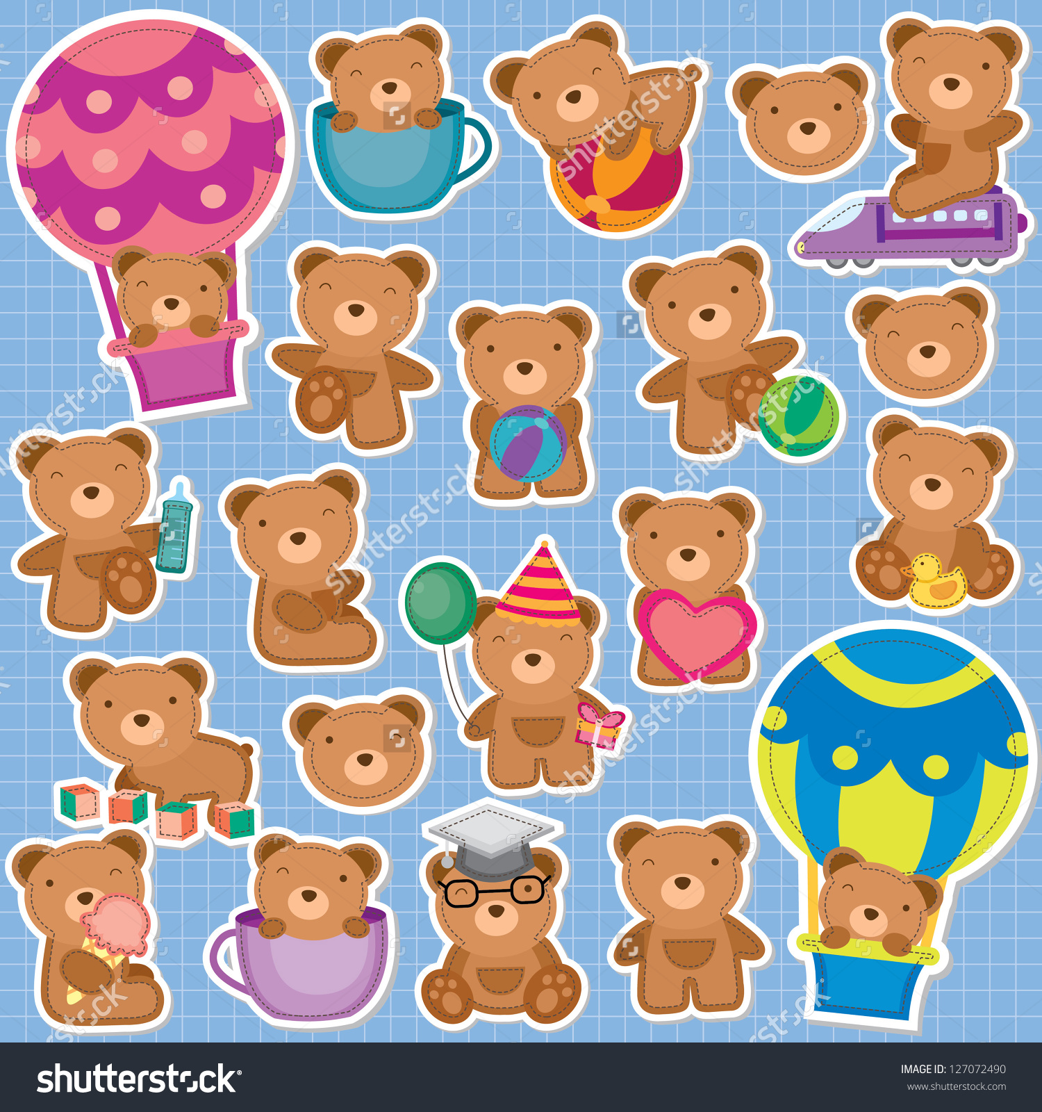 Teddy clipart cute bear Bear Stuffed cute Stuffed Teddy